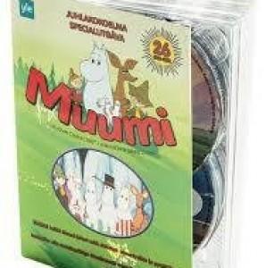 Muumi kokoelma dvd